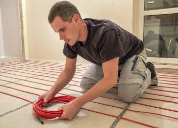Выбор кабеля для электрического теплого пола