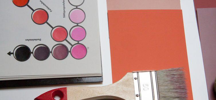 Сочетание цветов в интерьере: оранжевый