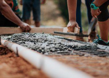 строительство фундамента частного дома