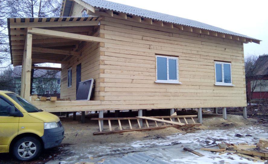 Дома из бруса: преимущества и недостатки разных видов бруса для строительства
