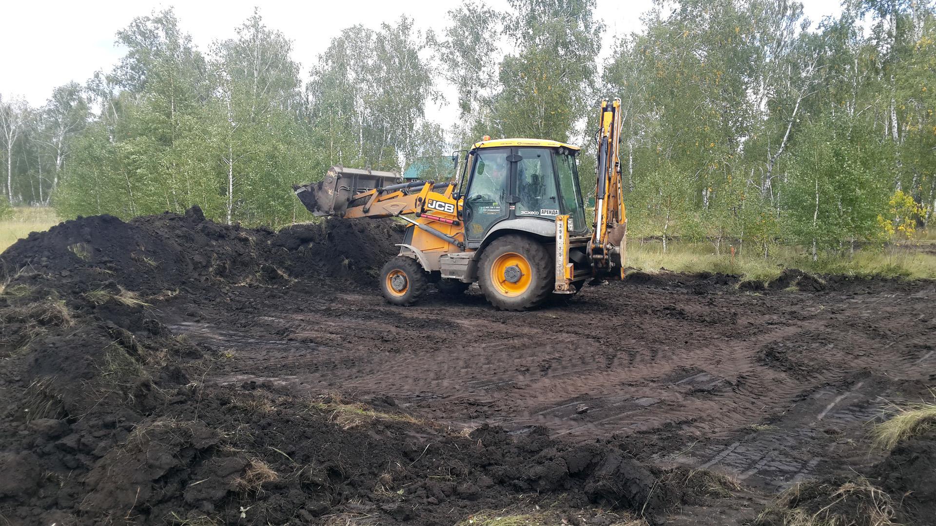 Распланировка участка для строительства фундамента