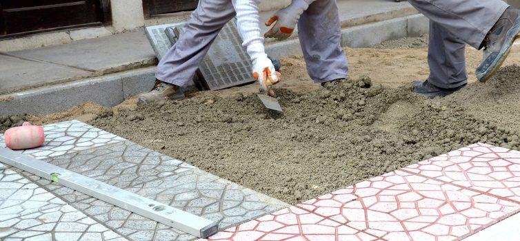 Тротуарная плитка: назначение, технология изготовления, укладка