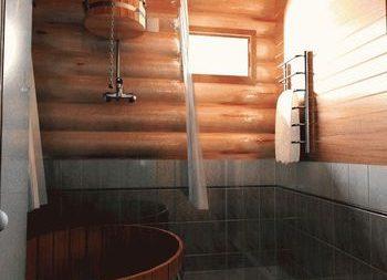 Внутренняя отделка бани: этапы, утепление и вентиляция