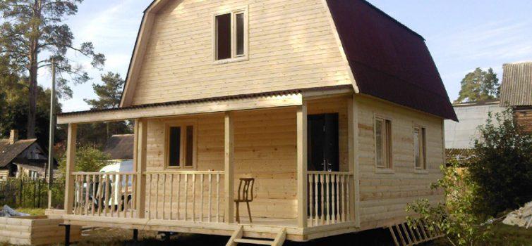 Размеры бруса для строительства дома