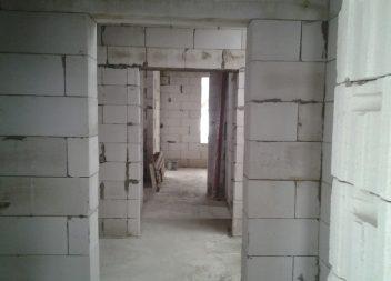 Строительство фундамента под дом из пеноблоков