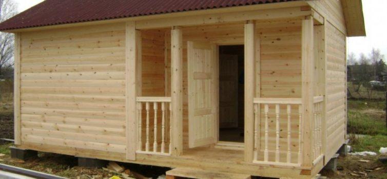 Внутренняя отделка бани деревянной вагонкой