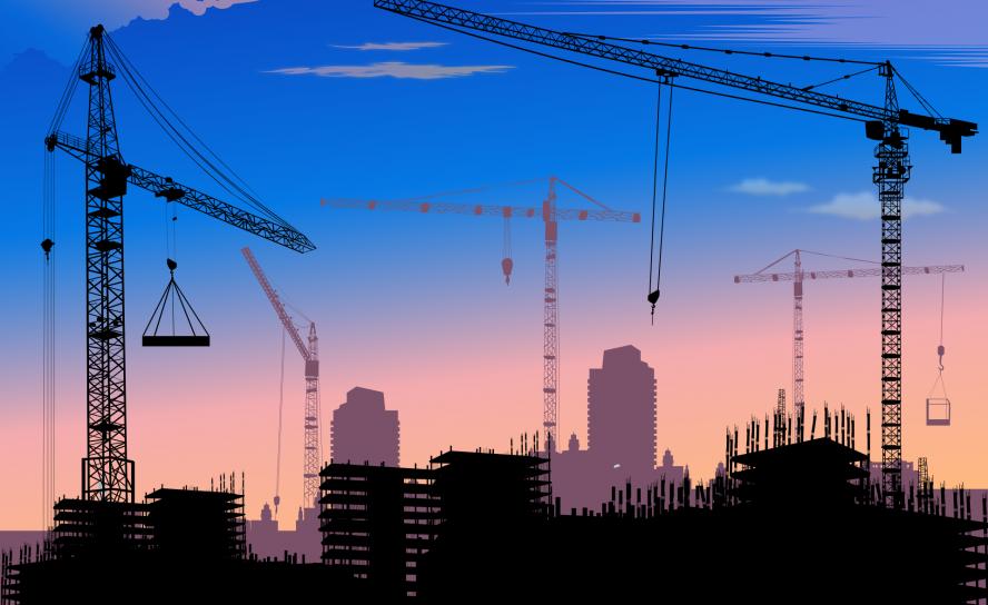 Освещение строительной площадки