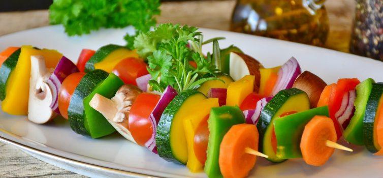 Овощной шашлык